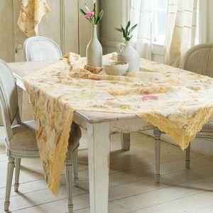 April Cornell Tablecloth Beckoning Bocas Linen NWT